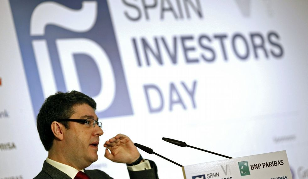 Álvaro Nadal, ayer en las jornadas Spain Investors Day.