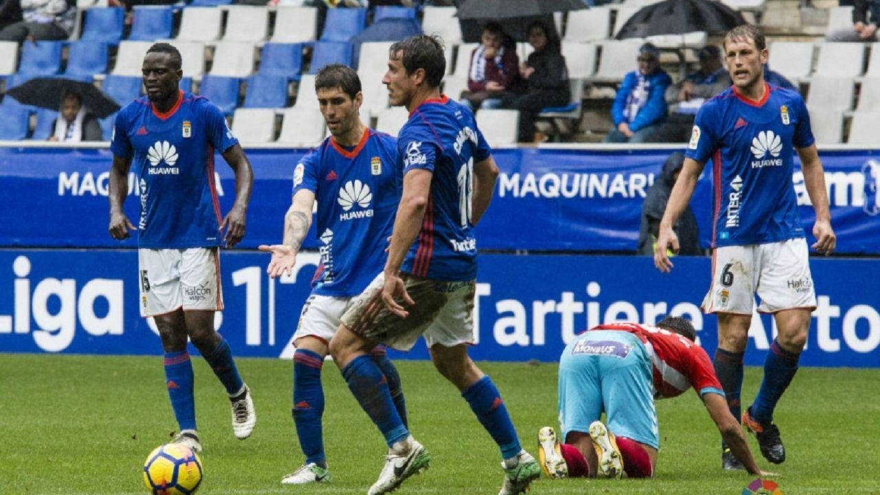 Mariga, Forlín, Christian y Carlos en una acción del partido