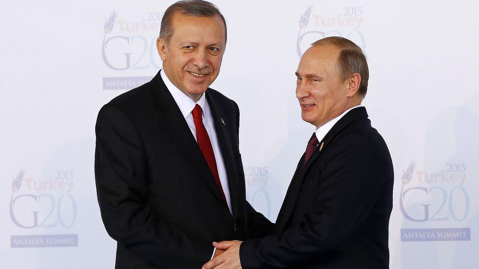 Encuentro entre Vladimir Putin y Barak Obama