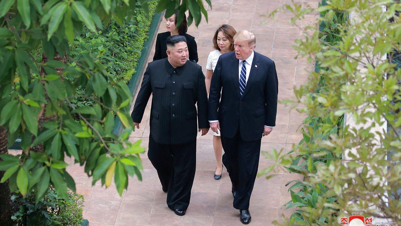 Segunda cumbre entre Kim Jong-un y Donald Trump