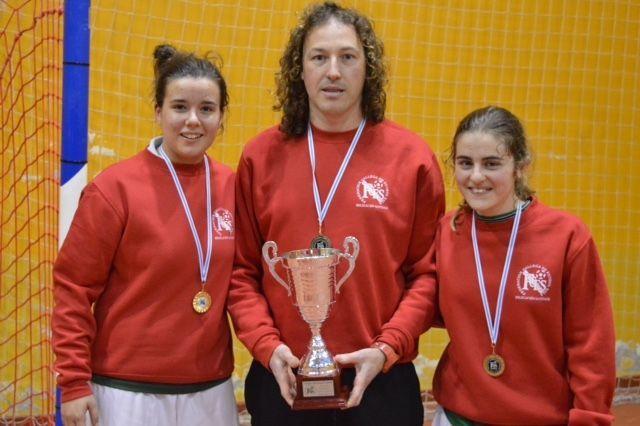 Paula Fandiño, Fran Toba y Nuria Pose compitieron con la selección.