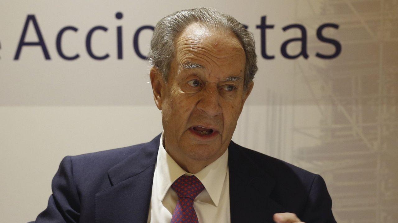 9. JUAN MIGUEL VILLAR MIR. El accionista de OHL acumula una fortuna de 2.000 millones de euros.