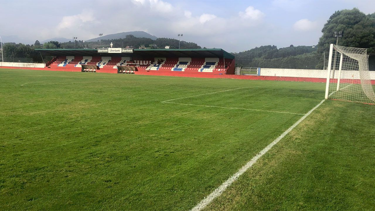 Juzgados Oviedo.Campo de El Pardo, del Navia CF