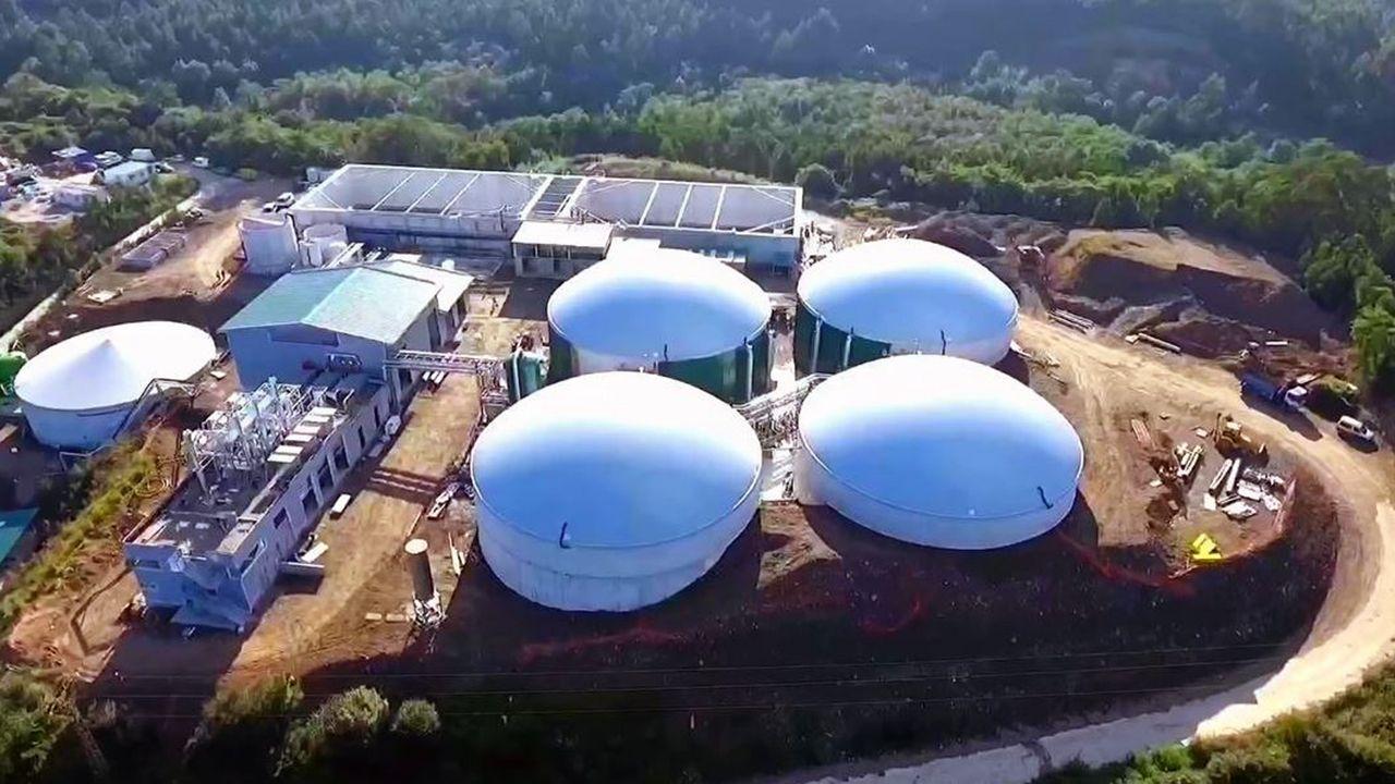 .Planta de Biogastur en Navia