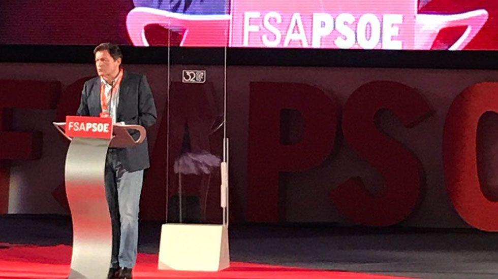 Gaspar Llamazares y Javier Fernández.Javier Fernández se despide de la FSA.