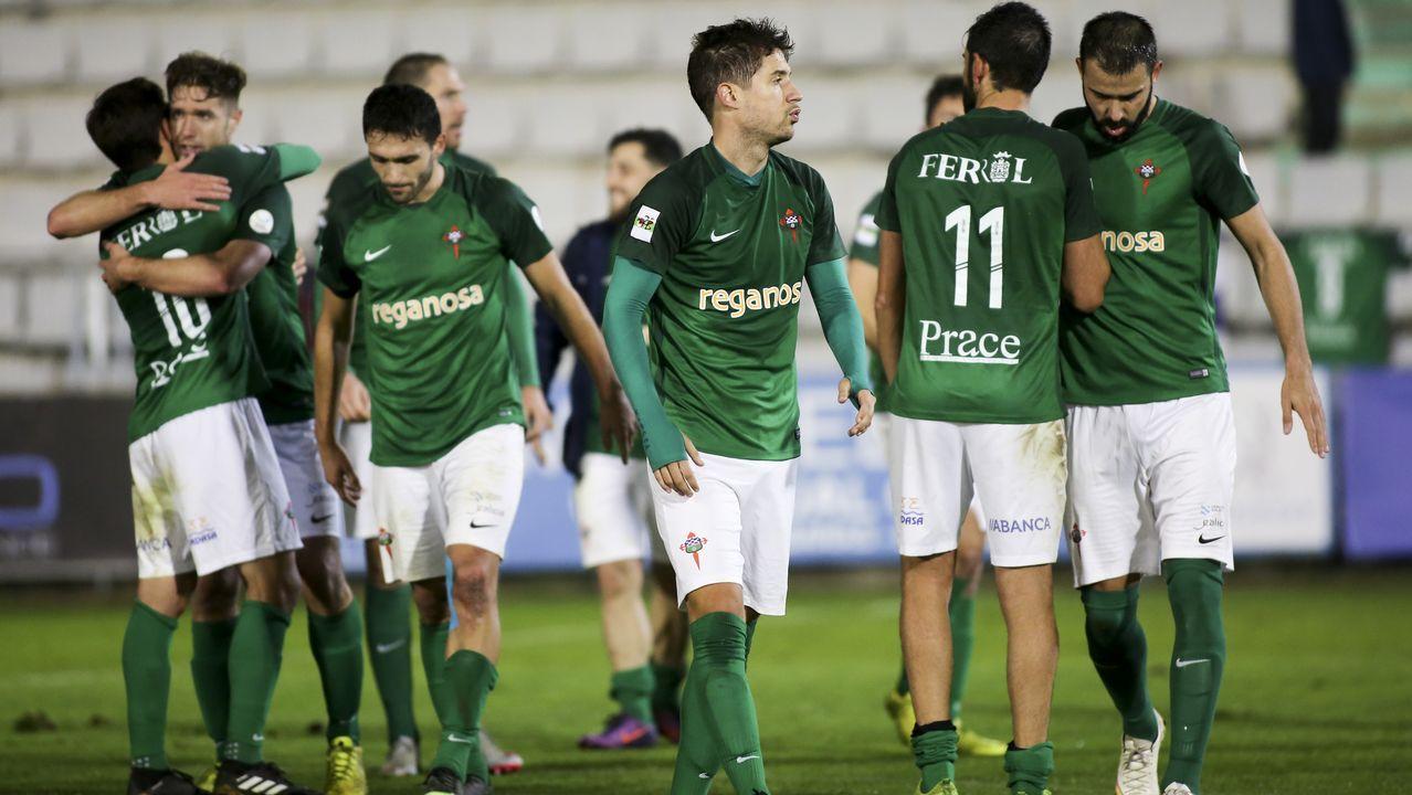 Las mejores imágenes del Racing de Ferrol - Ponferradina.