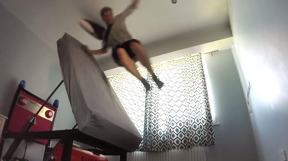 La cama voladora