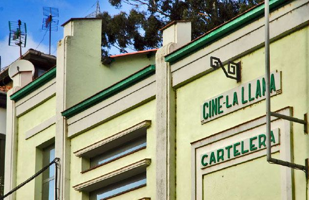 Los 24 magníficos del patrimonio cinematográfico asturiano.Exposición sobre el galardón al Pueblo Ejemplar