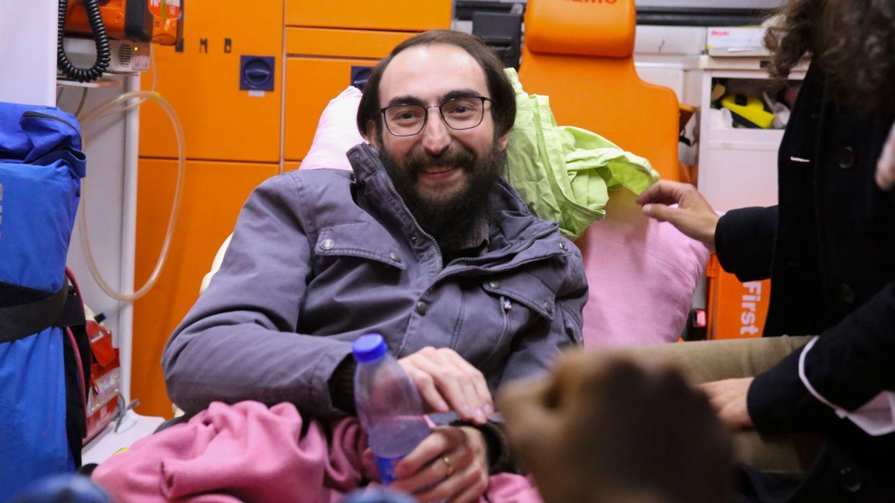 El profesor Semih, purgado por el Gobierno de Turquía.