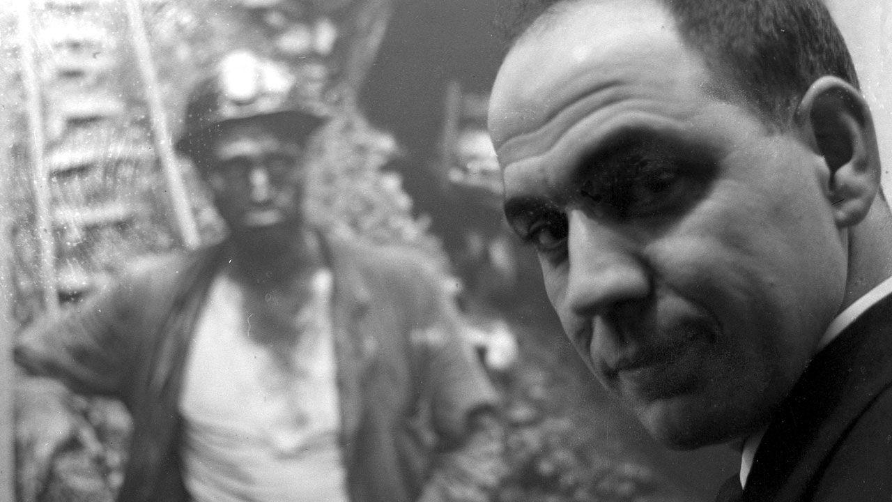 Autorretrato en una exposición en Madrid, 1963 (fragmento)