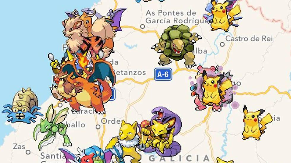 Salida nocturna para cazar Pokemons.Presentación de la Feria Internacional de Muestras de Gijón 2016