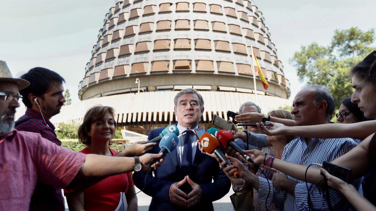 .El portavoz del PP en el Senado, José Manuel Barreiro