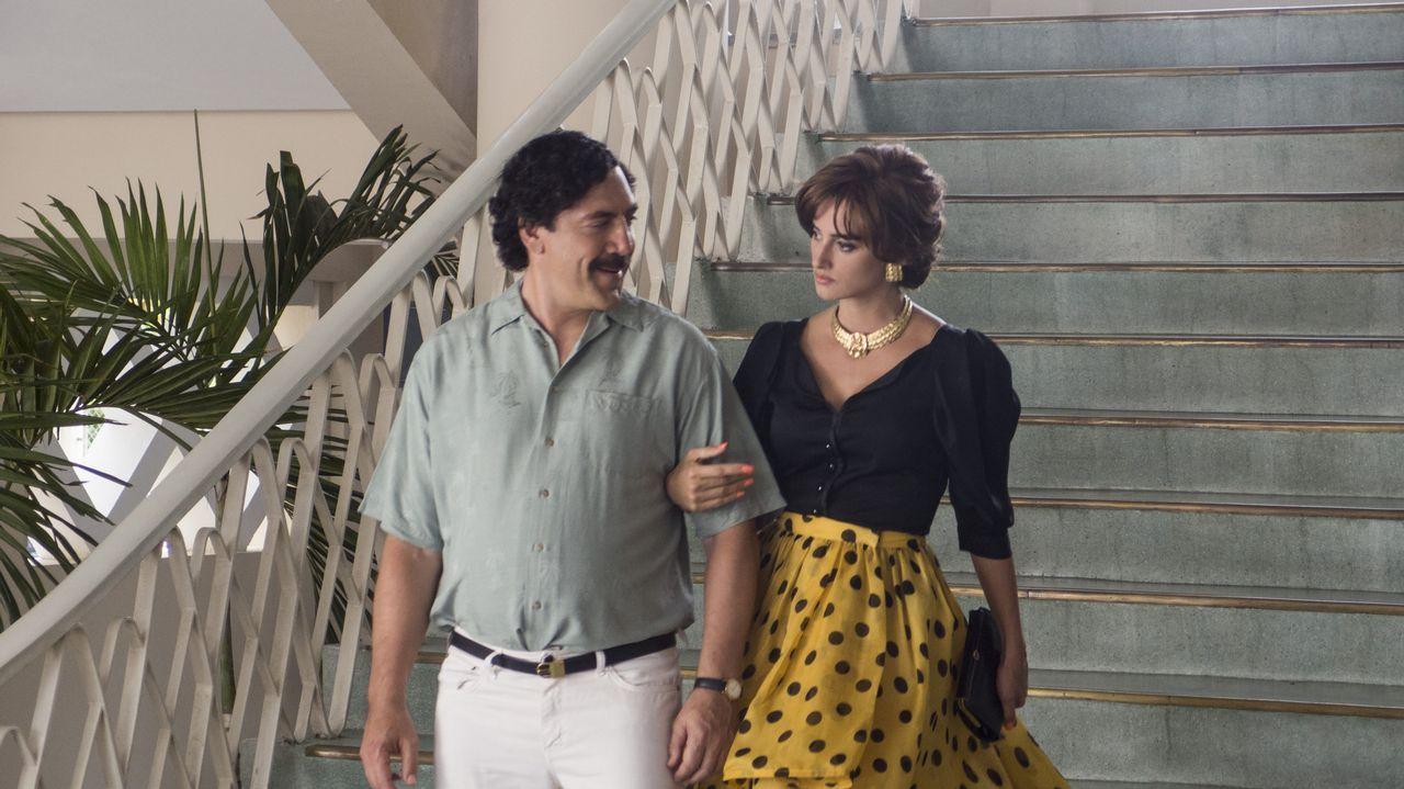 Bardem, en la piel de Pablo Escobar.Sábado 19.  O Furancho , de Ibuprofeno Teatro