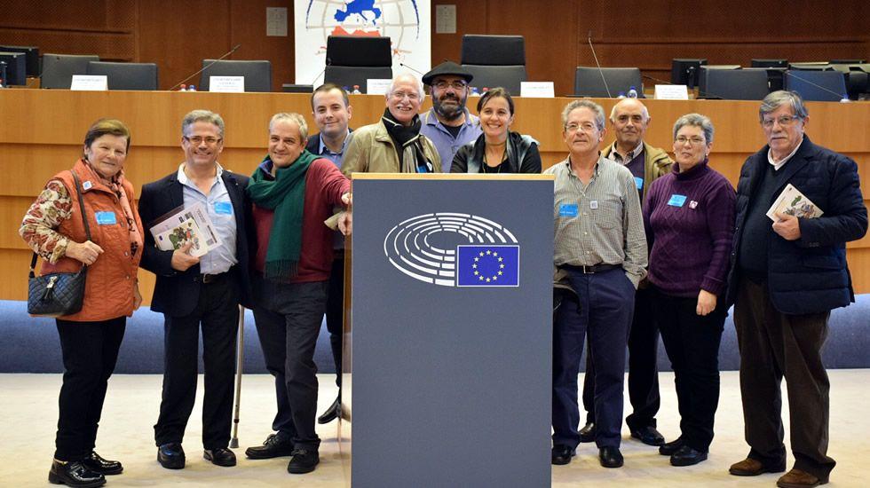 Los retornados llevan sus protestas a Bruselas.