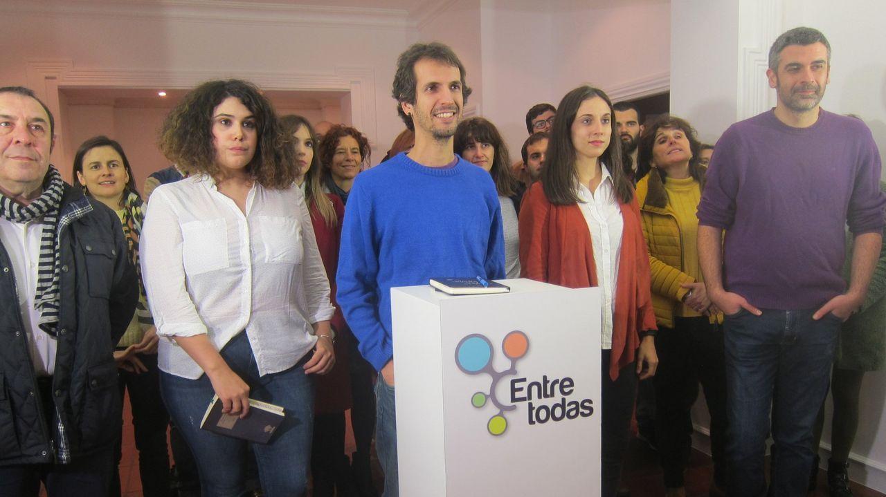 Albert Rivera, durante un mitin en Pontevedra, en la campaña de las autonómicas del 2016