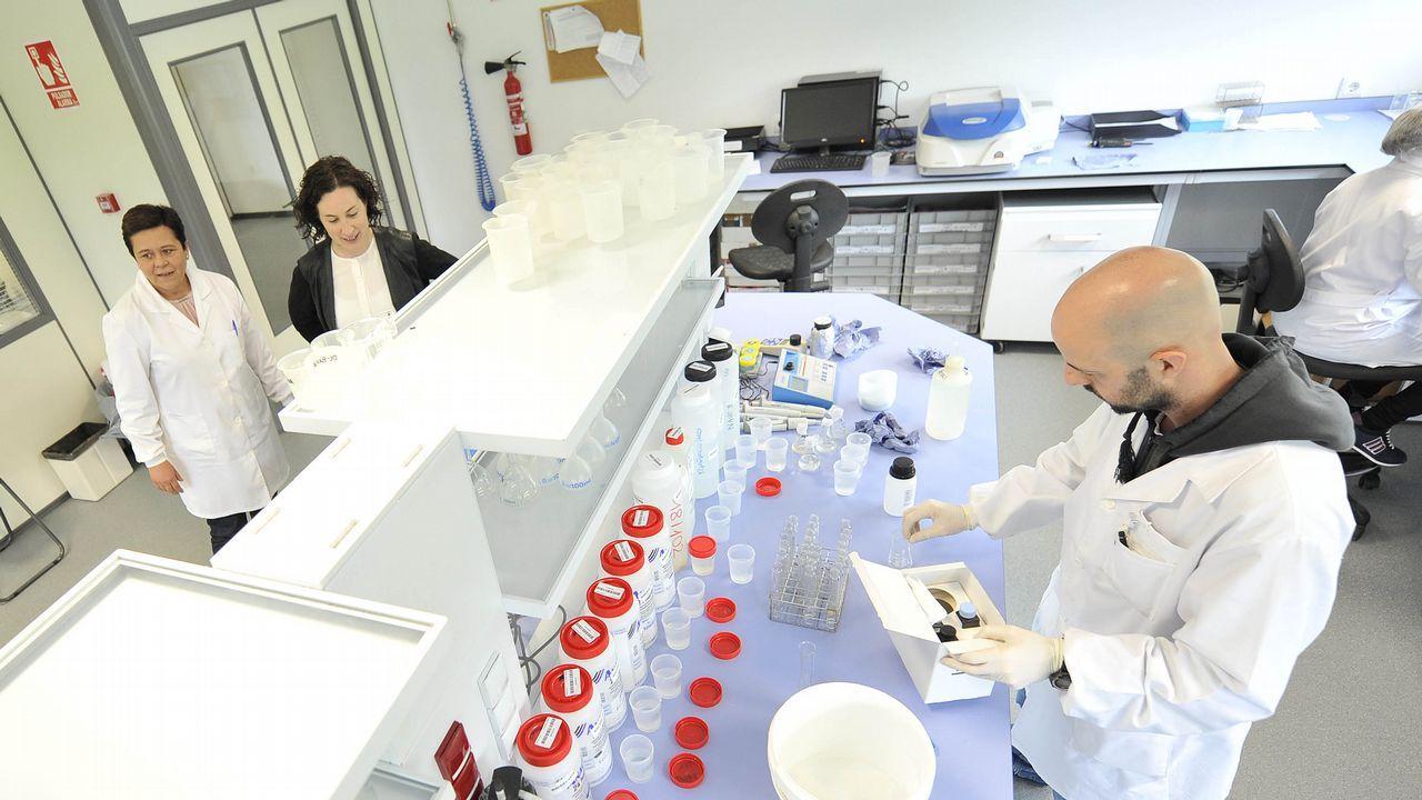 .El laboratorio estrenó unas modernas instalaciones hace tres años