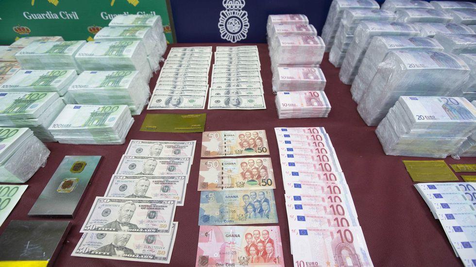 Desarticula la mayor red de falsificación de moneda de España