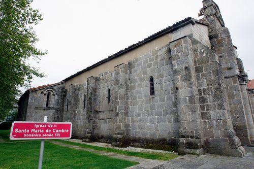 .Iglesia de Santa María de Cambre