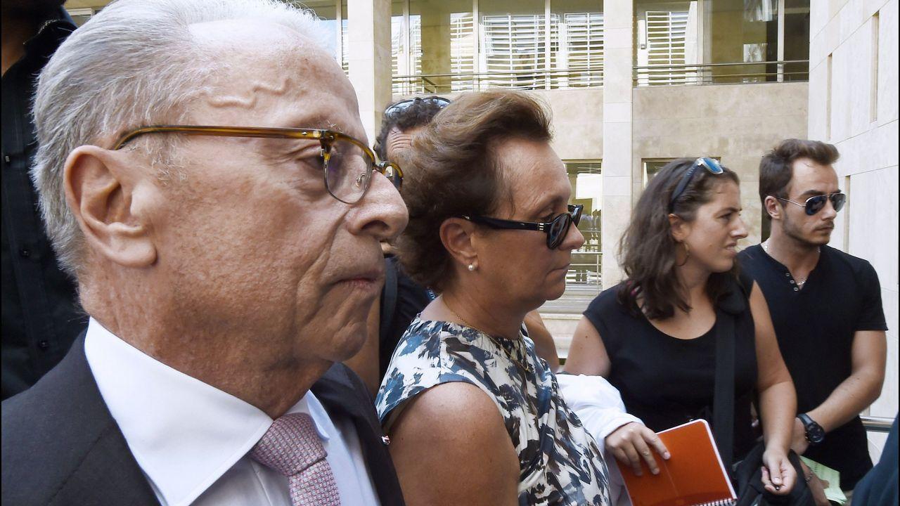 Sylvia Ratkowski, hija de Helene Pastor, llega al juicio
