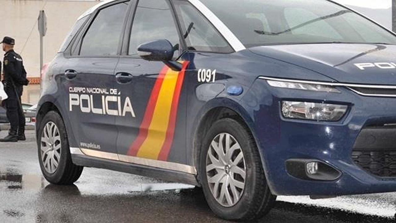 Imagen de un coche de la Policia Nacional