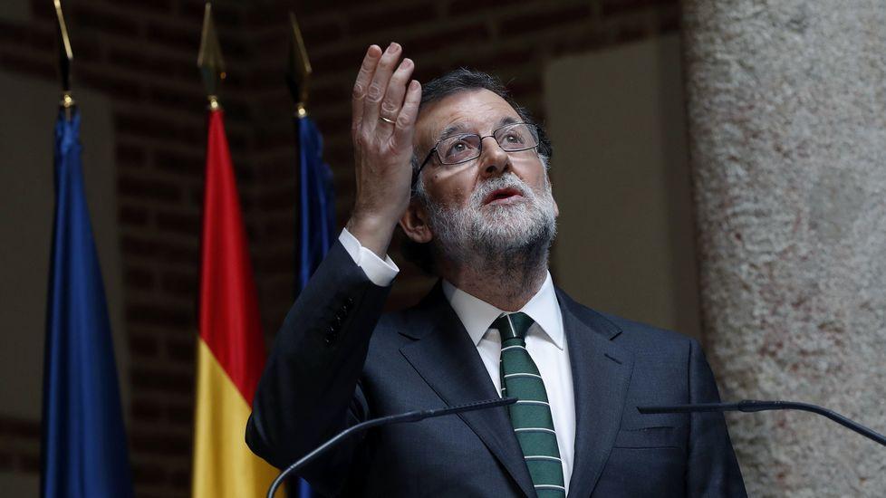 Rajoy rinde homenaje a Rita Barberá