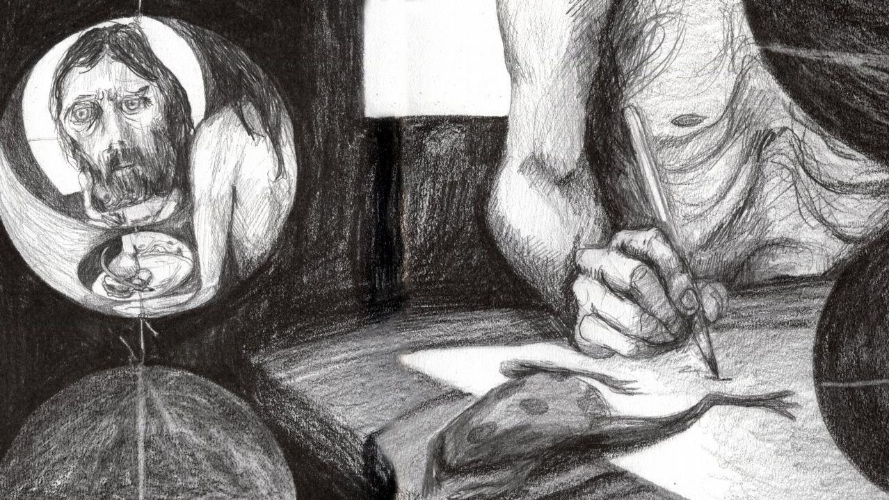 La primavera colorea Galicia.A obra «Man de Camelle», de Carmen Hermo, esta nominada na categoria de Libro Ilustrado e na de Mellor Libro Editado