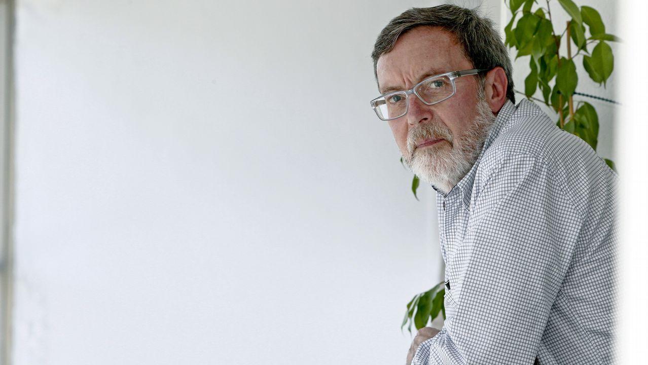 El asturiano Martín López-Vega.El asturiano Martín López-Vega