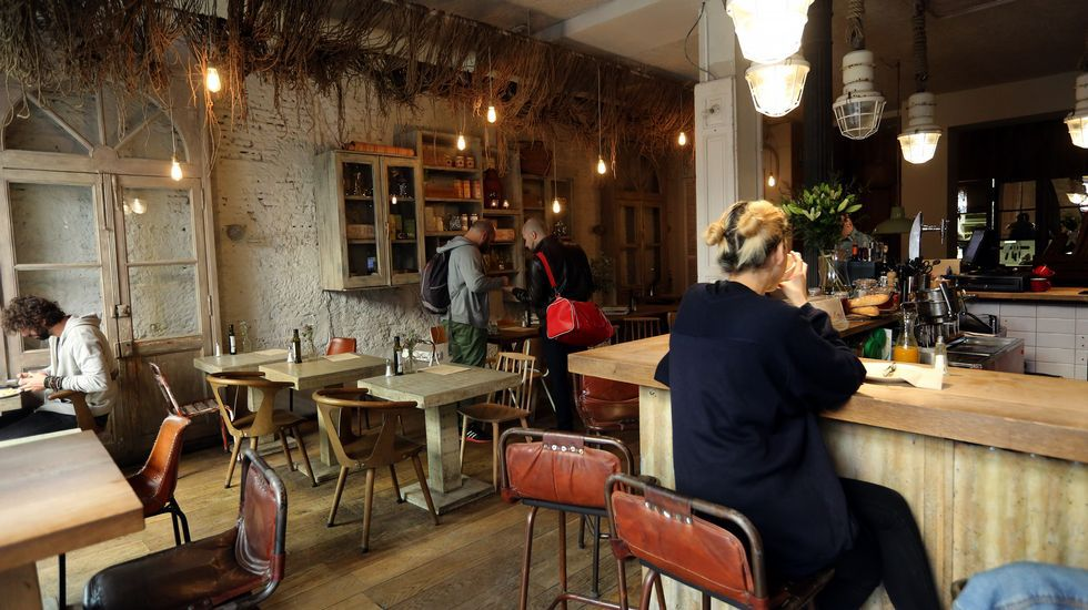 Maricastaña. Este restaurante, que da comida todo el día, está en Malasaña.