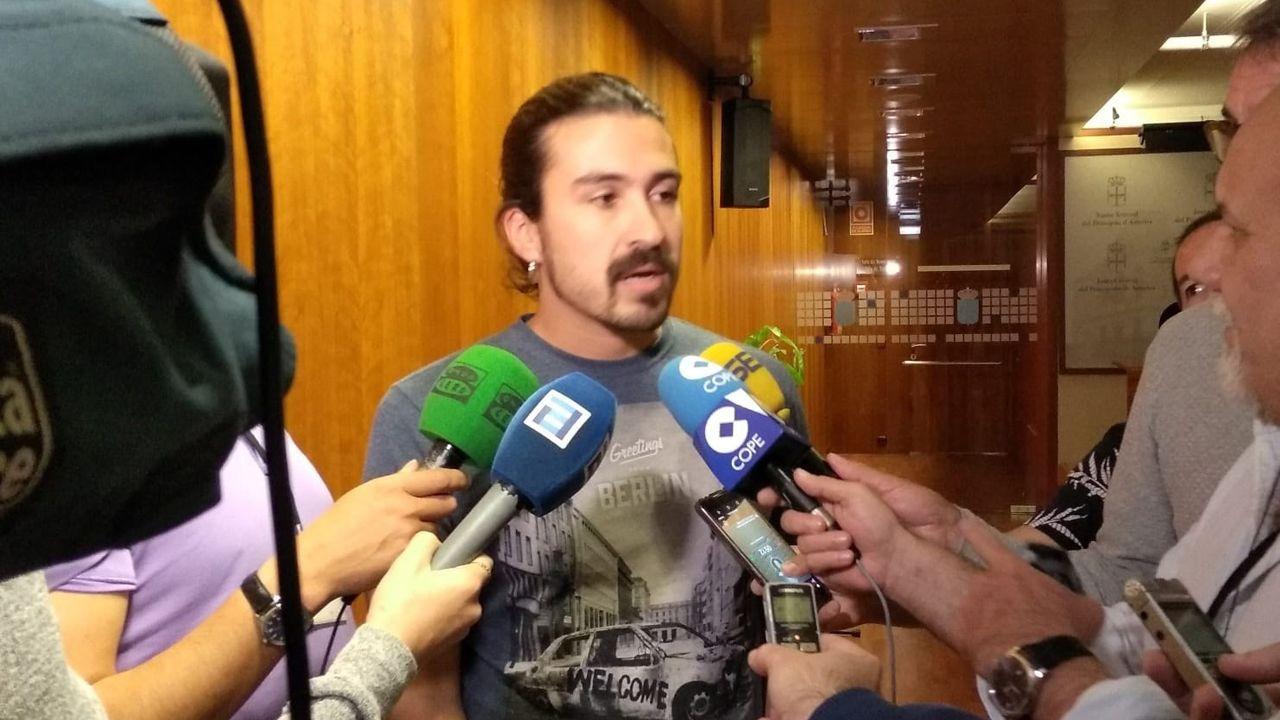 Lobos grande.Andrés Fernández Vilanova, diputado de Podemos Asturias