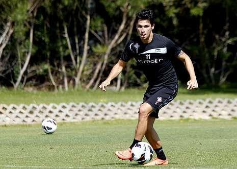 Jota Peleteiro viajó en la noche de ayer y hoy será cedido al segundo equipo del Real Madrid.