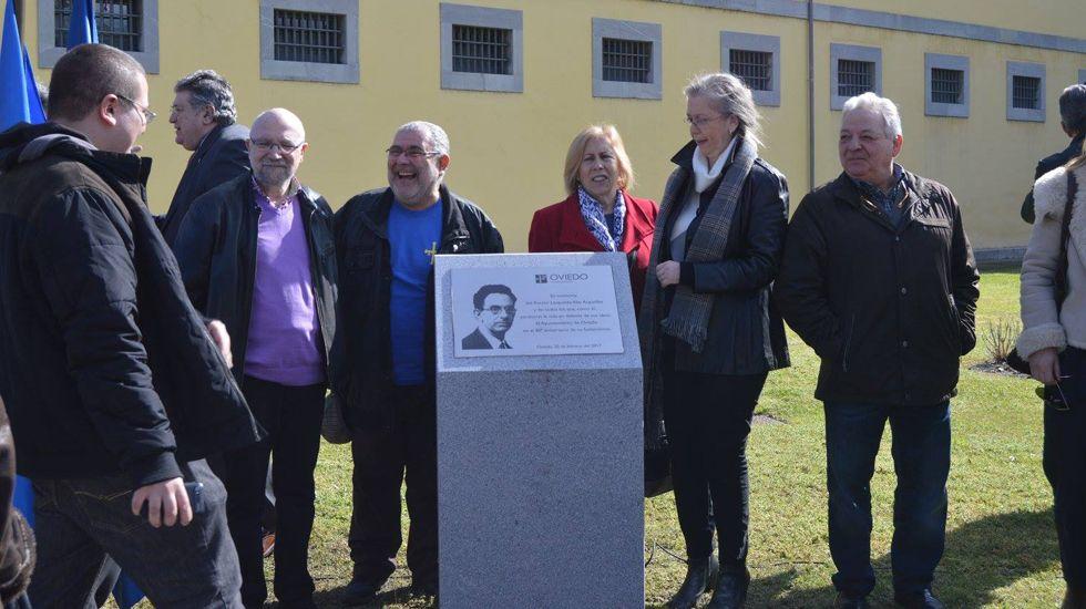 Wenceslao López.Acto en recuerdo del rector Alas