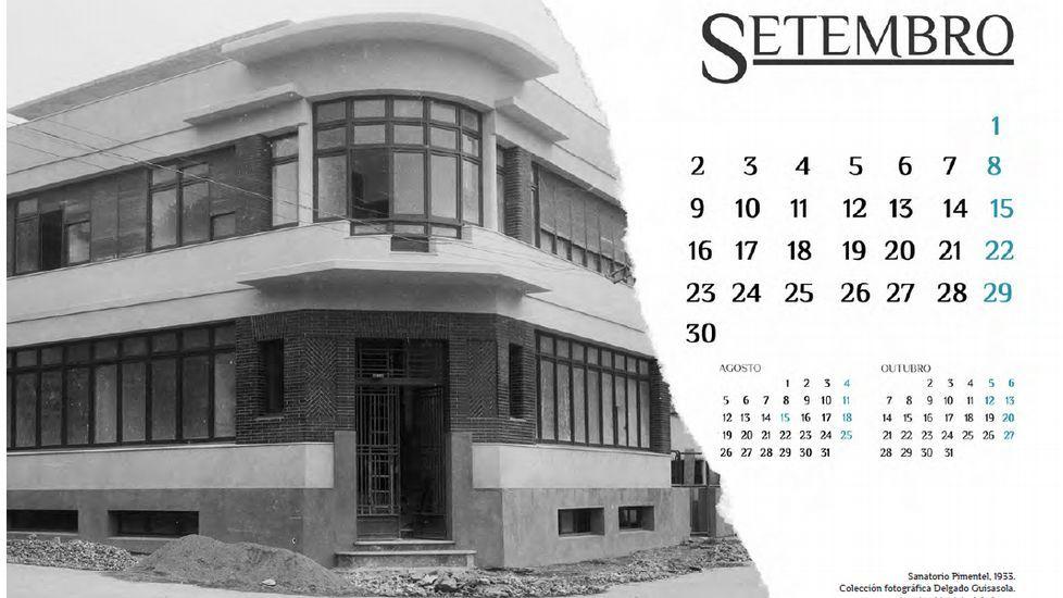 Las imágenes del calendario.Pleno del Ayuntamiento de Oviedo
