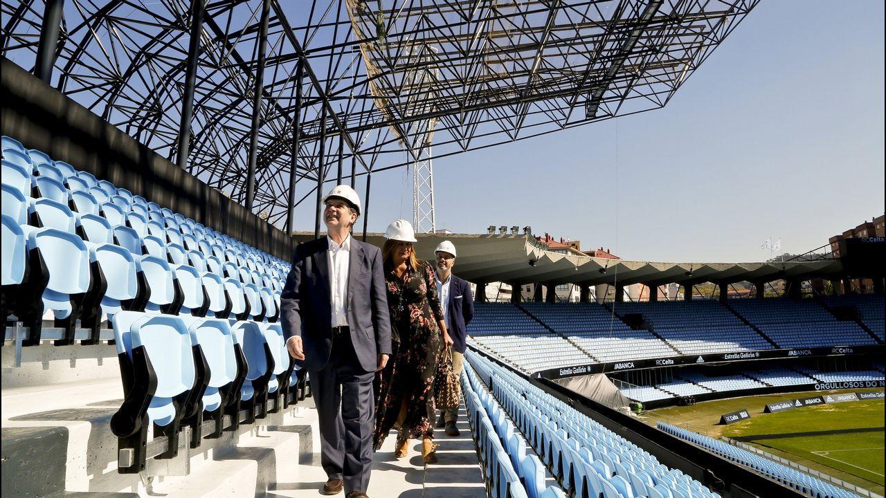 Alcalde.El alcalde de Sanxenxo ha tenido una dilatada carrera como constructor