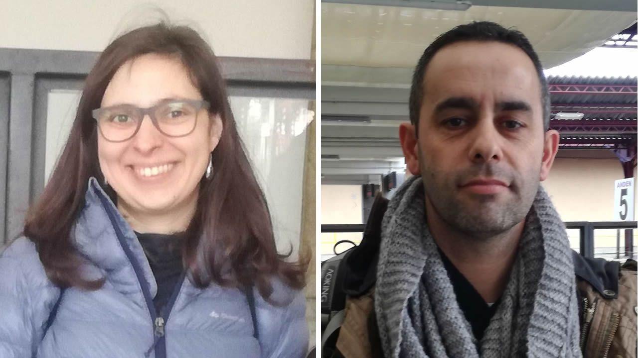 Rosa Loureiro y Arturo Llago