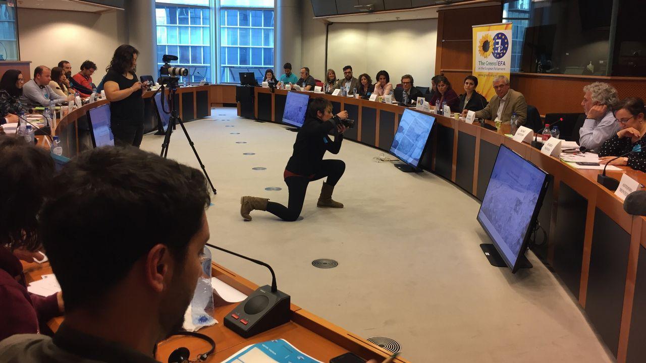 Asistentes a los grupos de debate de este jueves en Bruselas