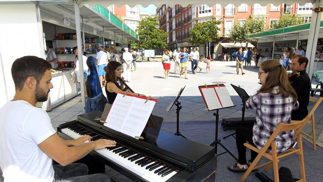 Actividades en las plazas, de la romería de Santa Margarita.