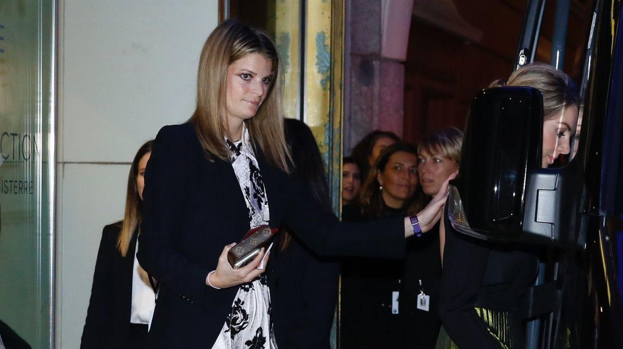 Athina Onassis. 33 años, nieta del magnate Aristóteles Onassis, heredera francesa de origen griego. Compañera de hípica de Marta Ortega.