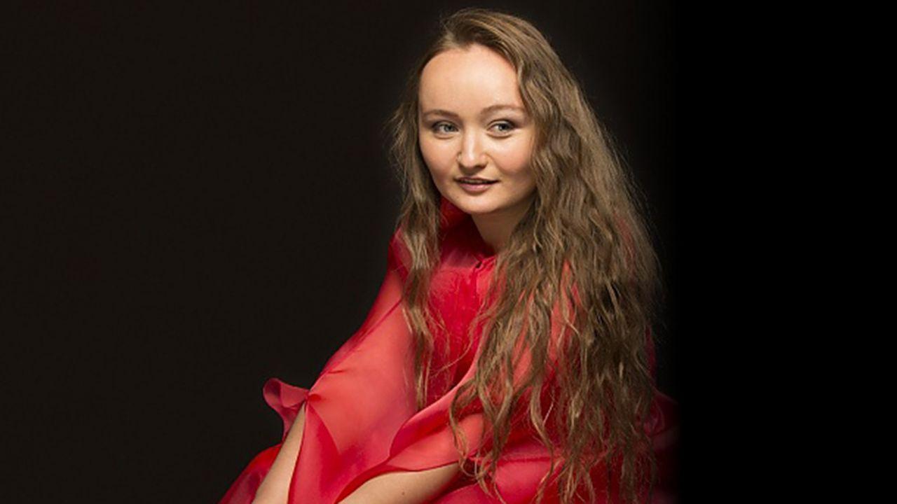 La soprano Julia Lezhneva