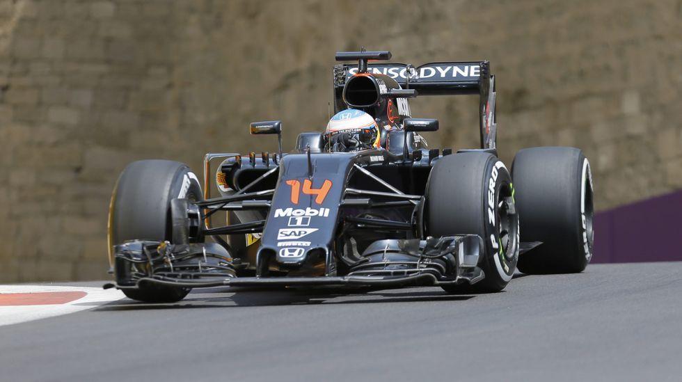 .El Mclaren de Fernando Alonso