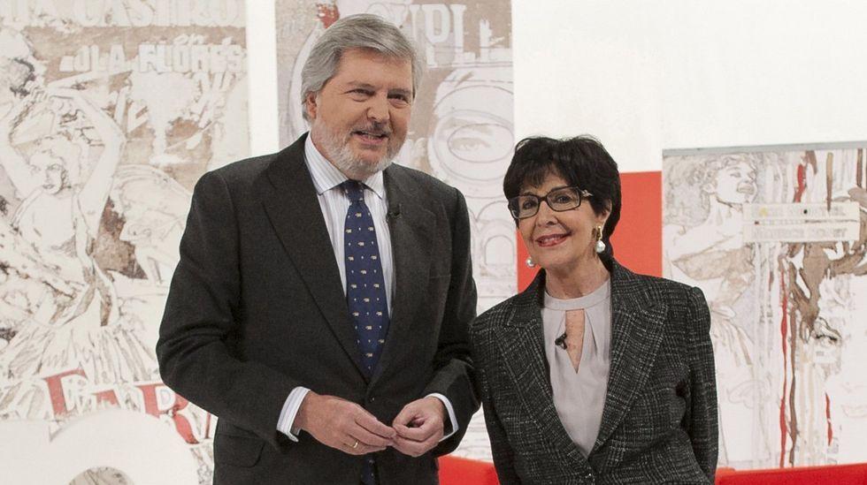 Bertín entrevista a Carmen Martínez Bordiú.Anne Igartiburu presentará las campanadas en TVE.