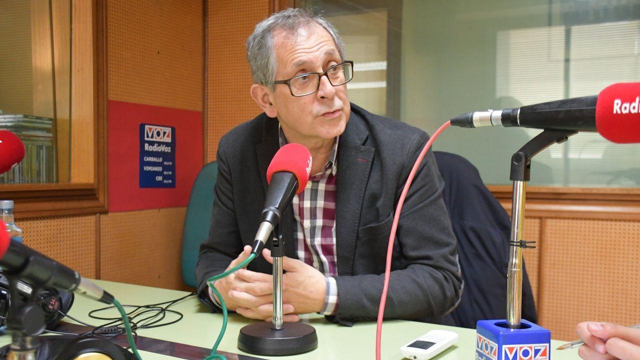 Presentación de Evencio Ferrero como candidato a la reelección como alcalde.Manifestación por la atención primaria y la sanidad pública celebrada este jueves en Vigo