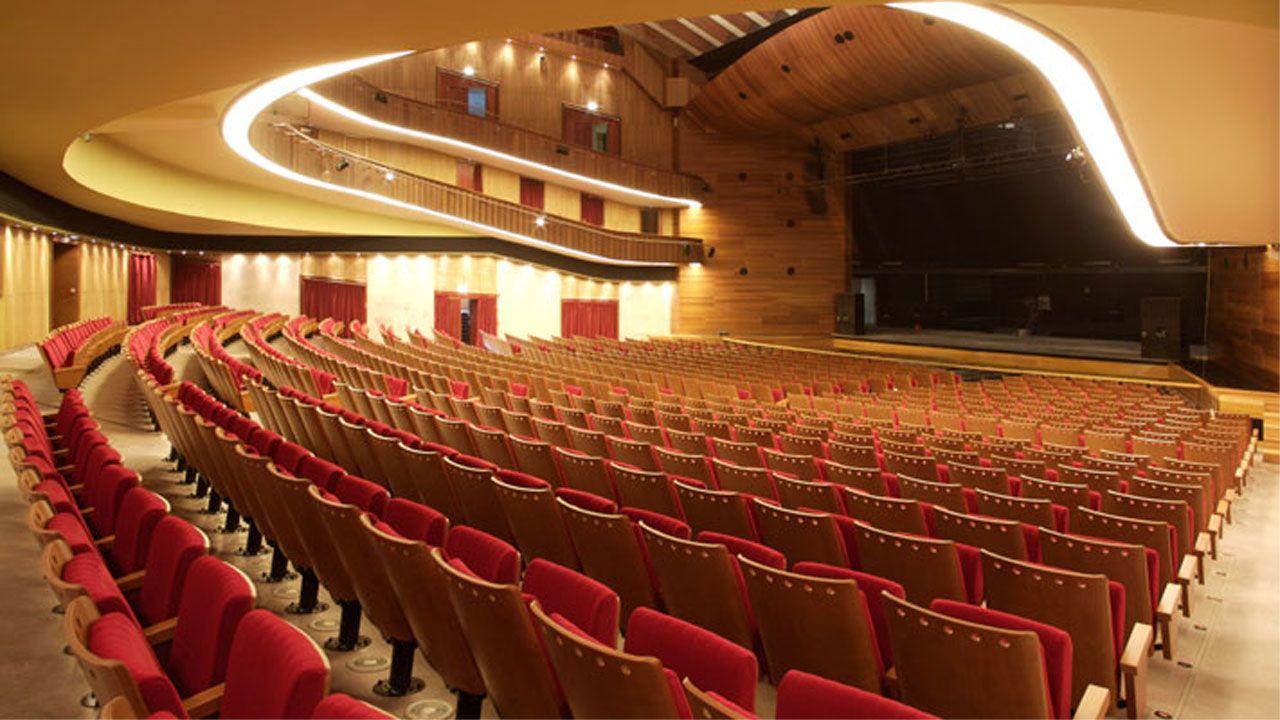 El Teatro de Laboral Ciudad de la Cultura, en Gijón