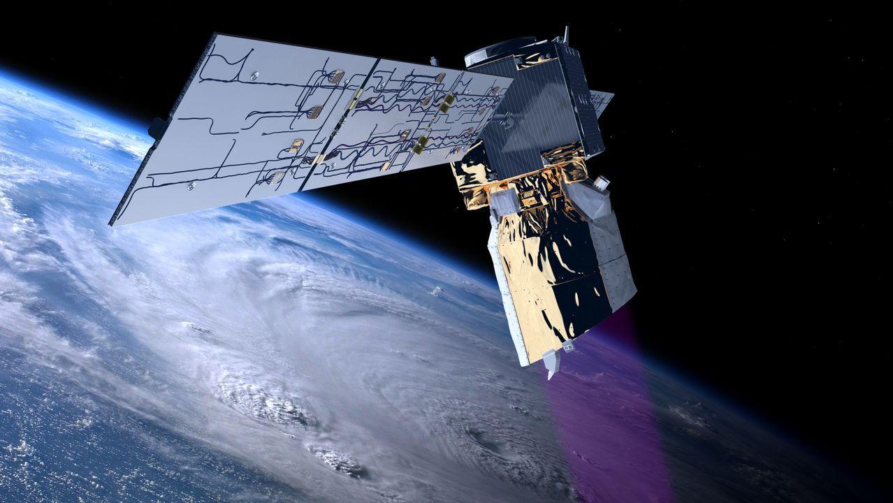 El Aeolus está en órbita desde agosto del 2018