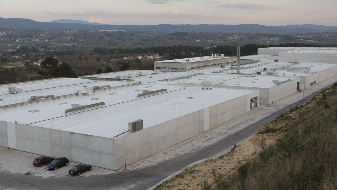 Instalaciones de Lonia Textil en el polígono industrial de Pereiro de Aguiar
