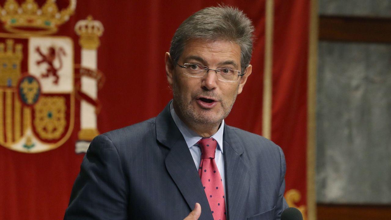 .Rafael Catalá, ministro de Justicia.