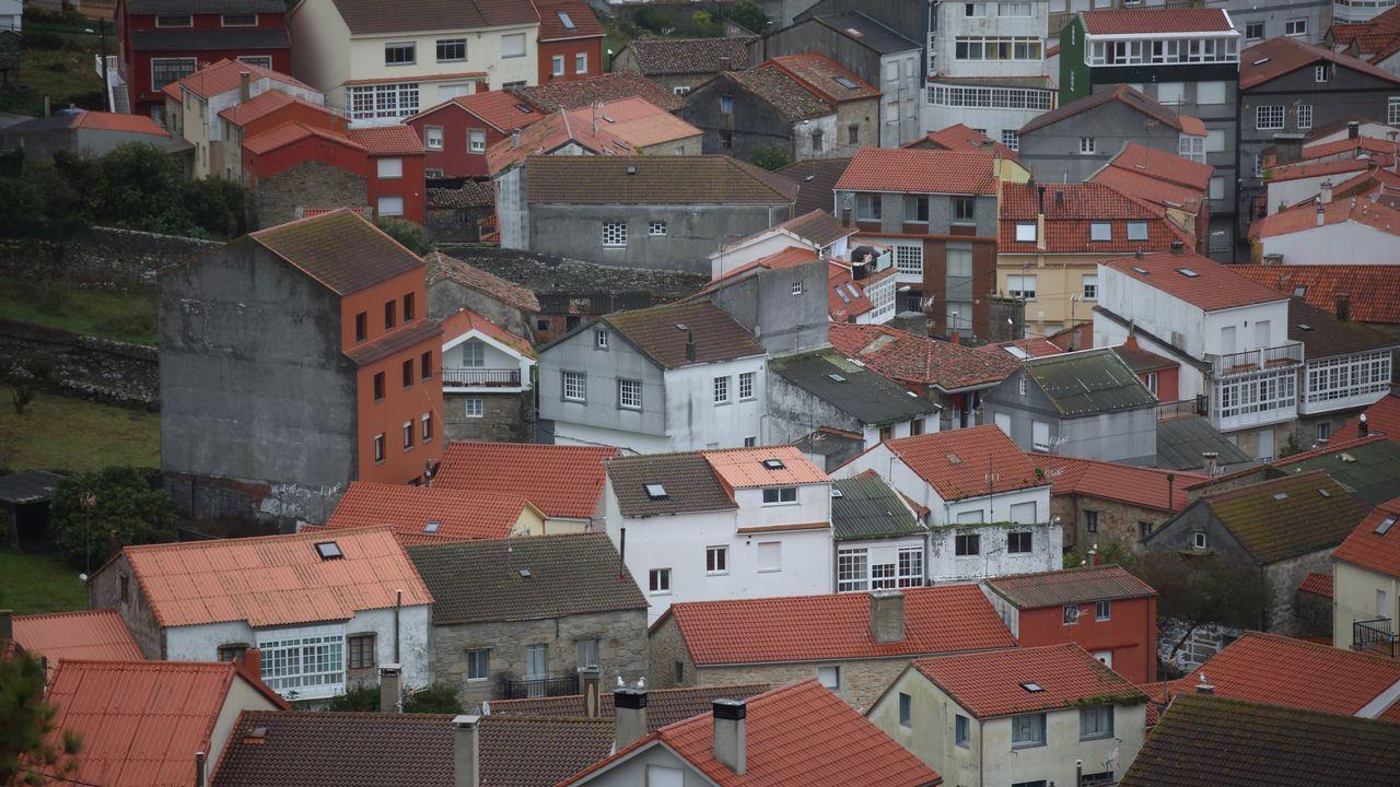 Portozás volvió a existir por un día: 20 años de «Mareas Vivas».Vista general de Laxe