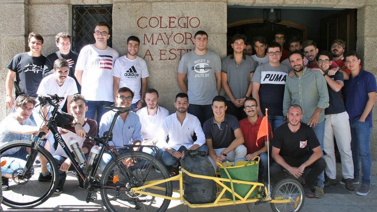 Álex Lecquio descansa ya en España tras recibir tratamiento contra el cáncer en EE.UU..Camisetas del Poio Pescamar