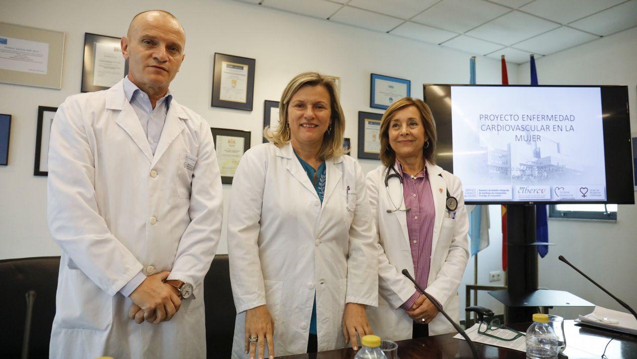 Así daban notoriedad al Día Mundial sin Tabaco del pasado año los alumnos del colegio Divina Pastora de Ourense