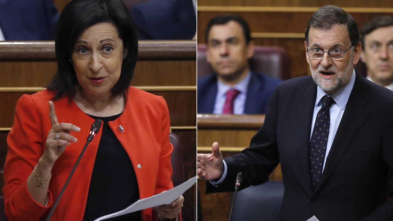 Margarita Robles se estrena en su nuevo cargo preguntando a Rajoy sobre la amnistía fiscal