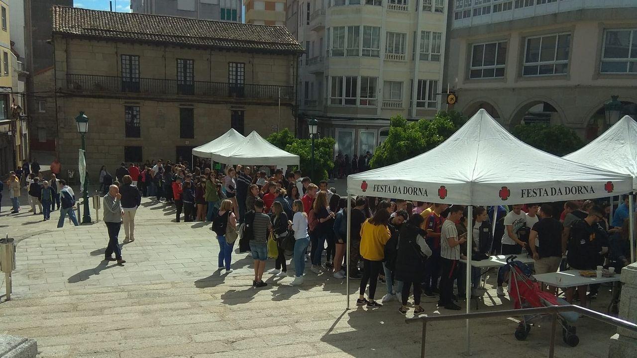 Accidente en la autovía del Barbanza.Toma de posesión de Lara Méndez como alcaldesa de Vigo